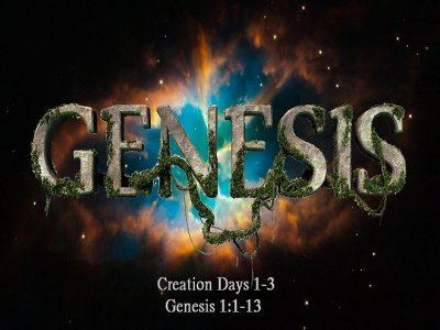 Genesis 1:1-13
