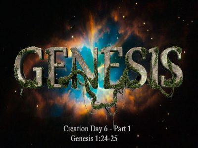 Genesis 1:24-25