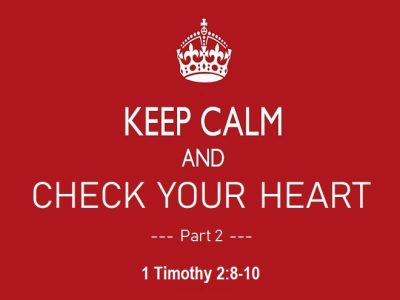 1 Timothy 2:8-10