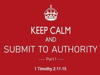 1 Timothy 2:11-15