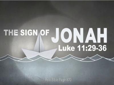 Luke 11:29-36