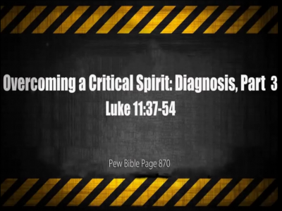 Luke 11:37-54