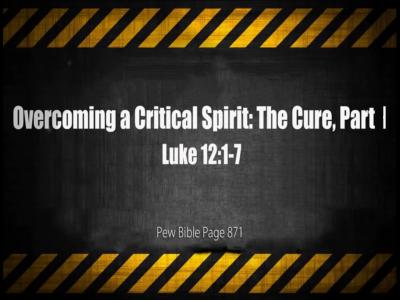 Luke 12:1-7