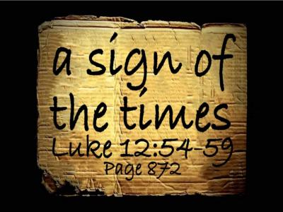 Luke 12:54-59