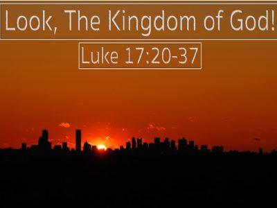 Luke 17:20-37
