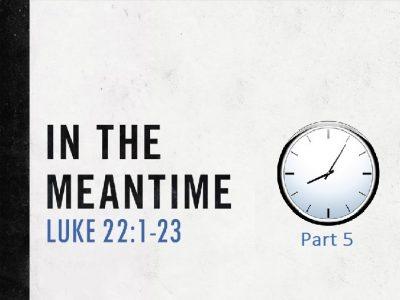 Luke 22:1-23