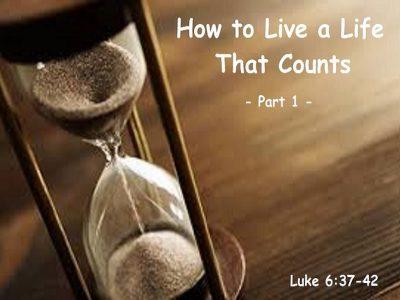 Luke 6:37-42