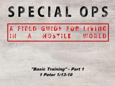 1 Peter 1:13-16