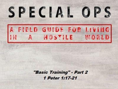 1 Peter 1:17-21