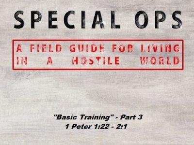 1 Peter 1:22 - 2:1