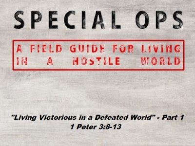 1 Peter 3:8-13