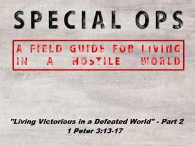 1 Peter 3:13-17