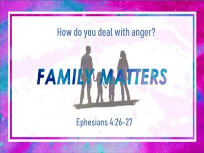 How do you deal with anger?