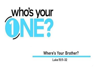 Where's Your Brother?
