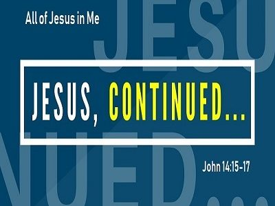 All of Jesus in Me