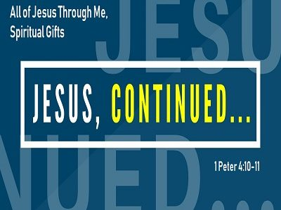 All of Jesus Through Me, Spiritual Gifts