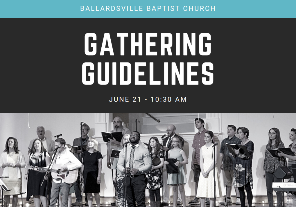 Gathering Guidelines