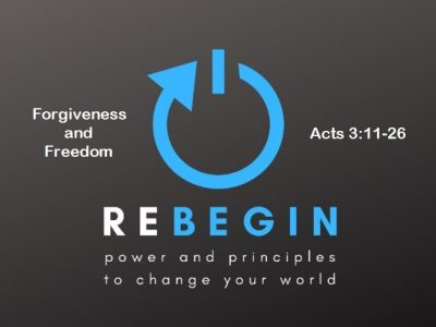 Forgiveness and Freedom