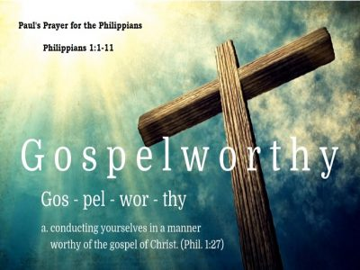 Paul's Prayer for the Philippians